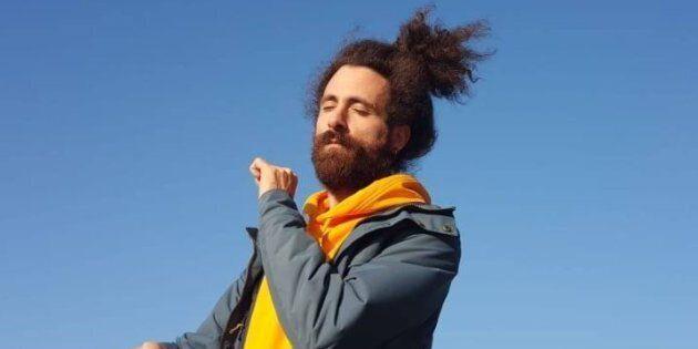 Gio Evan, artista citato da Isoardi per annunciare l'addio a Salvini.