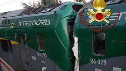 Urto frontale tra due treni di pendolari nel comasco: sei