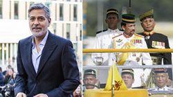 Clooney invita a boicottare il sultano del Brunei e i suoi hotel: