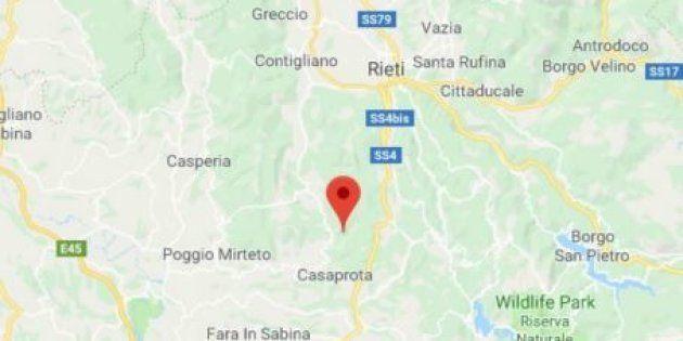 Scossa di terremoto 3.4 nel reatino, epicentro a Montenero