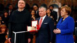 Al re di Giordania la Lampada della pace di Assisi: