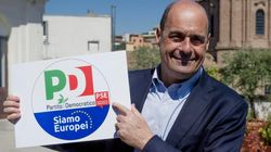 Simbolo di unità. Nicola Zingaretti svela il logo