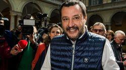 Matteo Salvini arriva al Congresso di Verona: