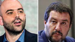 Roberto Saviano contro Matteo Salvini: