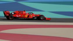 La Ferrari vola nel deserto. Sorpresa Leclerc, in pole davanti a