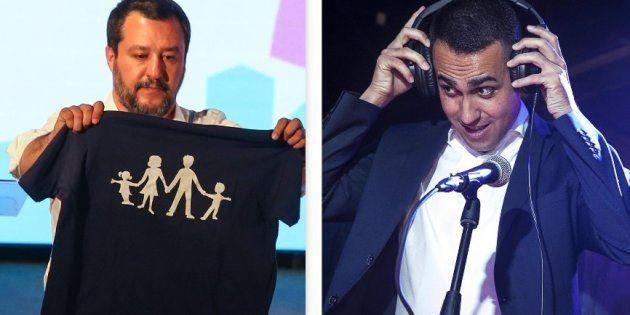 """Relazioni extraconiugali. La """"fuitina"""" di Di Maio e Salvini finisce in litigio"""