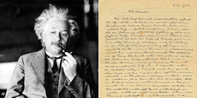 In una lettera inedita alla sorella, la paura di Einstein per l'antisemitismo, prima dell'ascesa
