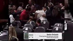 La deputata apprende in aula dell'omicidio della figlia. Il video delle urla della donna alla Camera