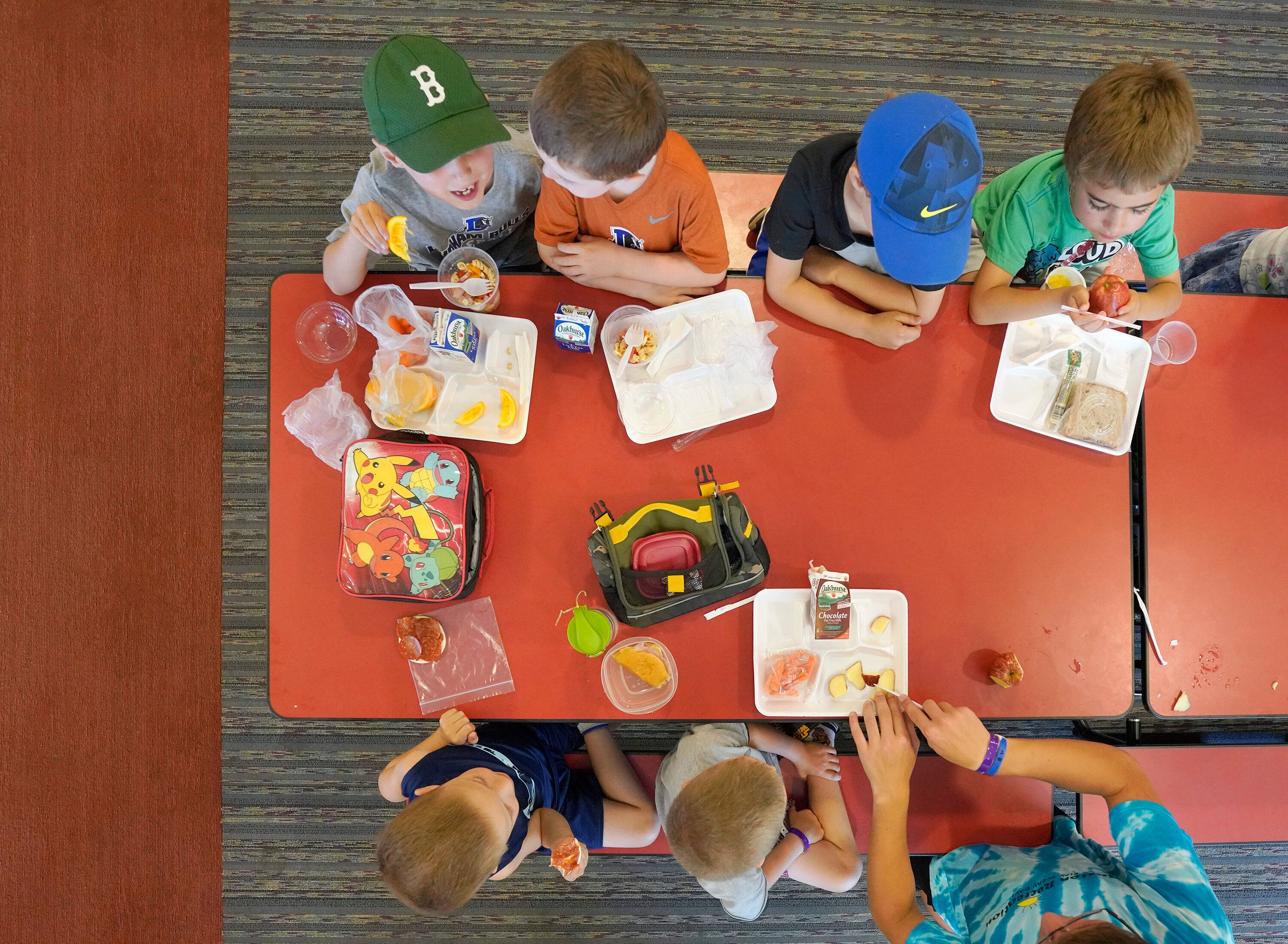 Maine Legislature OKs Bill To End 'Food Shaming' Students Who Can't Afford Meals