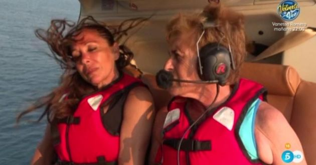 El salto en helicóptero de Isabel Pantoja en 'Supervivientes 2019', foto a