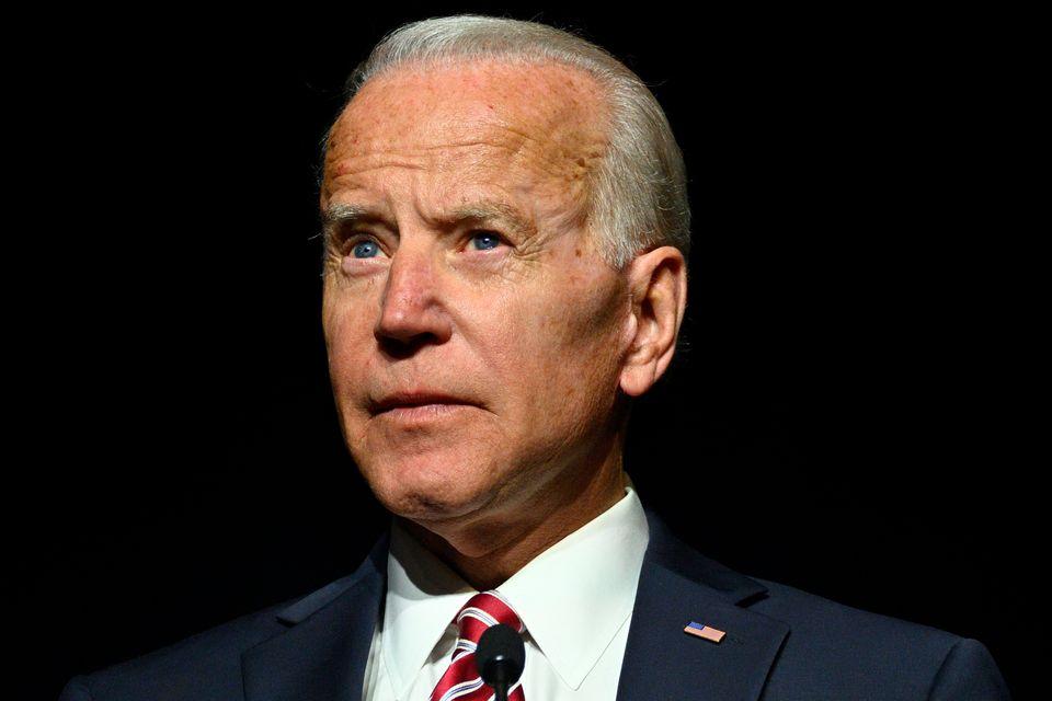 조 바이든 전 부통령이 2020년 미국 대선 민주당 경선 레이스에