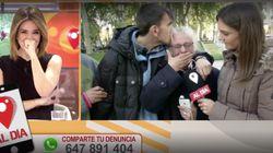 Carme Chaparro se emociona en directo después de vivir uno de los momentos televisivos más