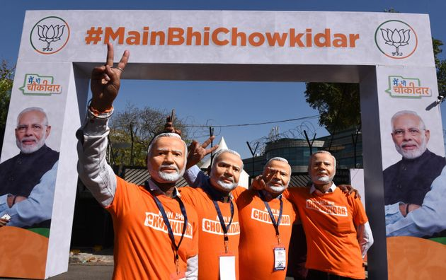 As A Watchman's Son, I Know Modi's Chowkidar Campaign Is Exploiting The