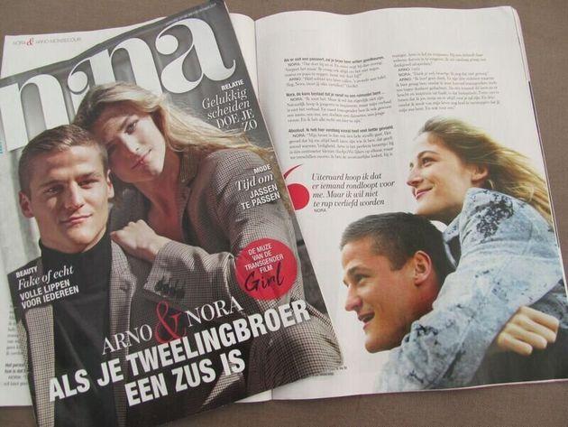 きょうだいで雑誌の表紙を飾り、インタビューに答えたことも。