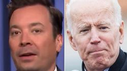 Fallon Bashes Joe Biden Over Touching Allegations With Spoof 2020