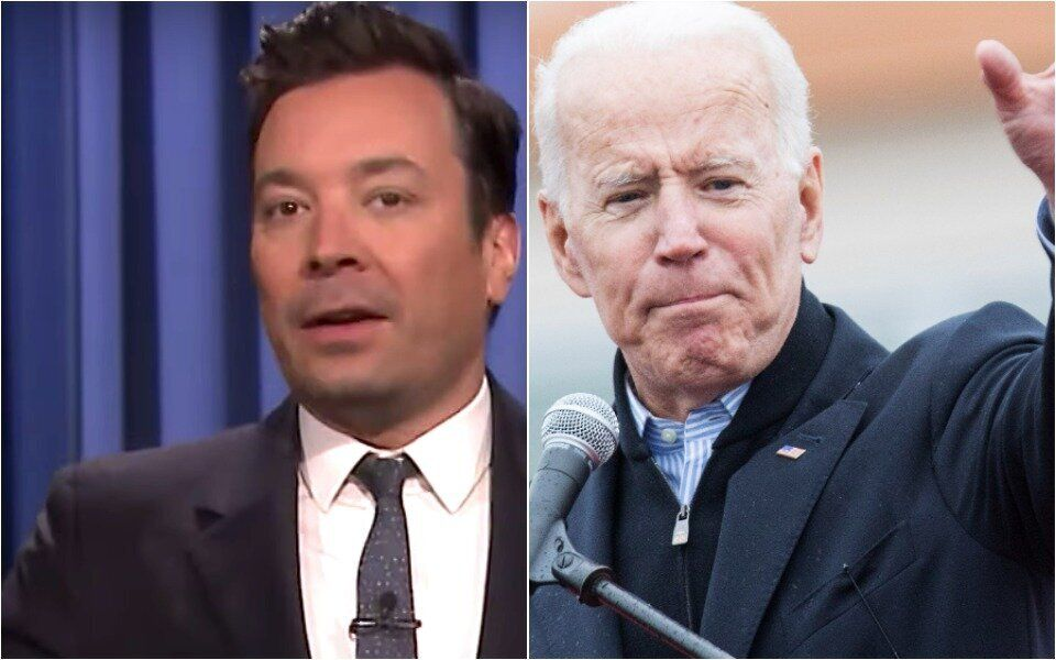 Fallon and Biden