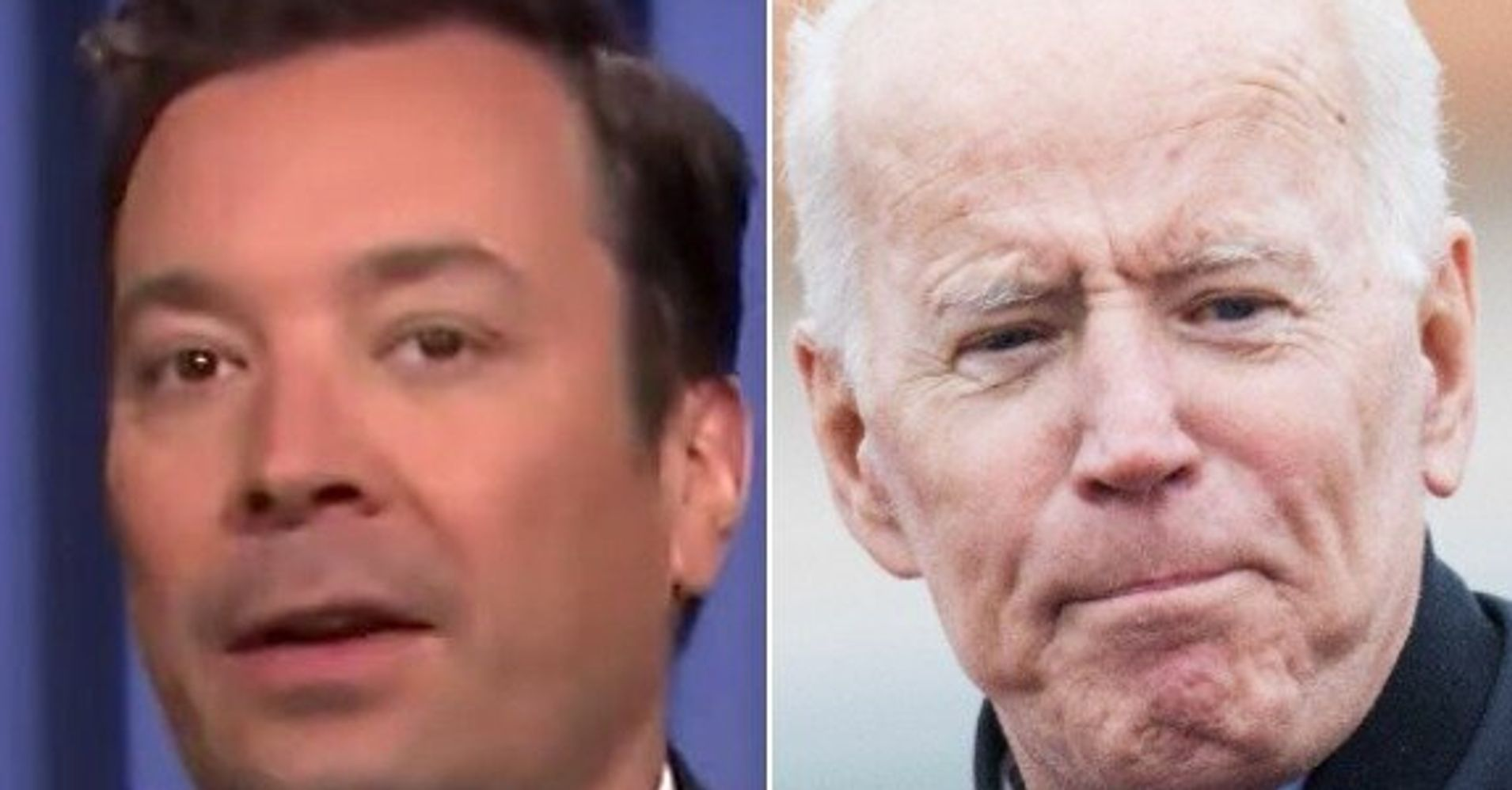 Westlake Legal Group 5cc2c605240000a000258939 Fallon Bashes Joe Biden Over Touching Allegations With Spoof 2020 Slogan