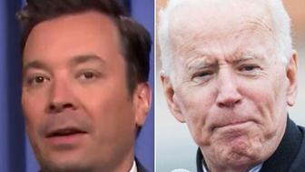 Fallon and Biden