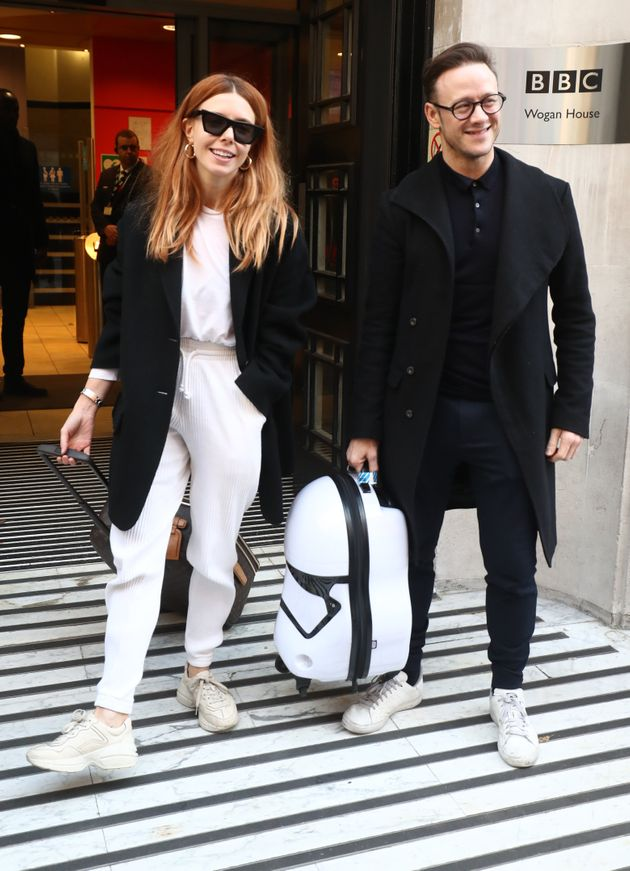 Stacey and Kevin leaving the BBC last