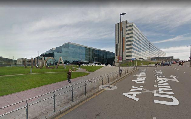 Vista general del hospital de Oviedo donde se ha producido el