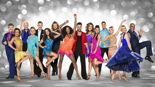 The cast of Strictly Come Dancing