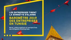 Tunisie - Baromètre des entreprises 2019: Plus d'un dirigeant d'entreprise sur 2 pense que son activité sera menacée dans les...