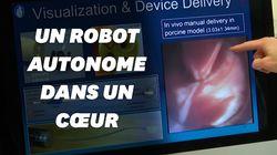 Ce robot autonome mène des opérations du