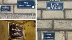 Pour la Journée de visibilité lesbienne, ces rues de Paris ont été