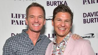 LOS ANGELES, CALIFORNIA - APRIL 23:  Cookbook author David Burtka and husband Neil Patrick Harris celebrate the launch of Life Is a Party with the Capital One Savor® credit card on April 23, 2019 at Osteria Mozza in Los Angeles. (Photo by Emma McIntyre/Getty Images for Life Is A Party)