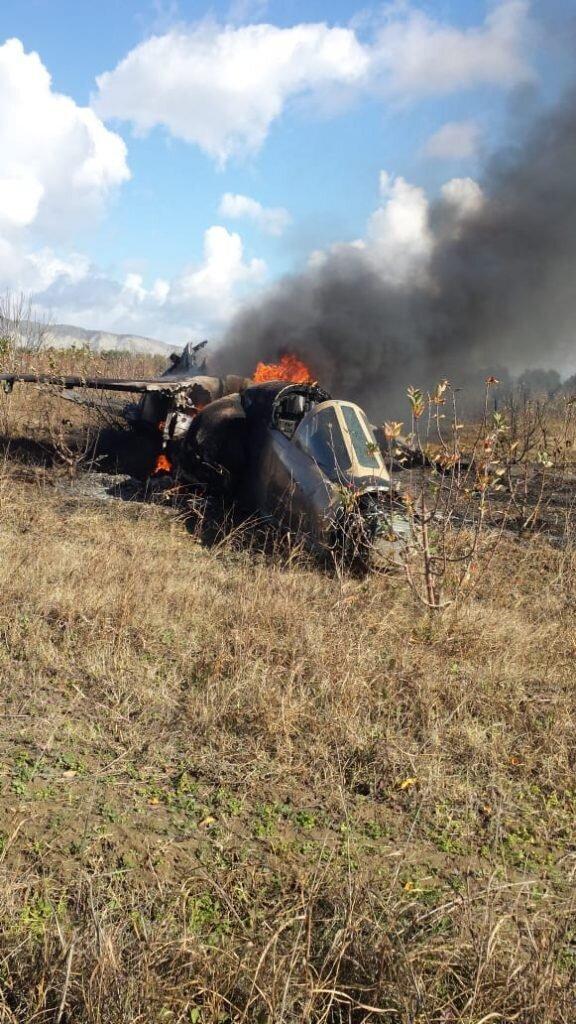 Urgent: Un hélicoptère des FAR s'est écrasé dans le sud du