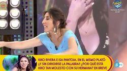 Paz Padilla abandona el plató de 'Sálvame' tras una de las mayores broncas que se