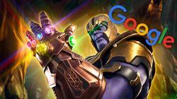 Flipa al ver lo que pasa cuando escribes Thanos en