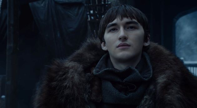 Bran looking super excited about these