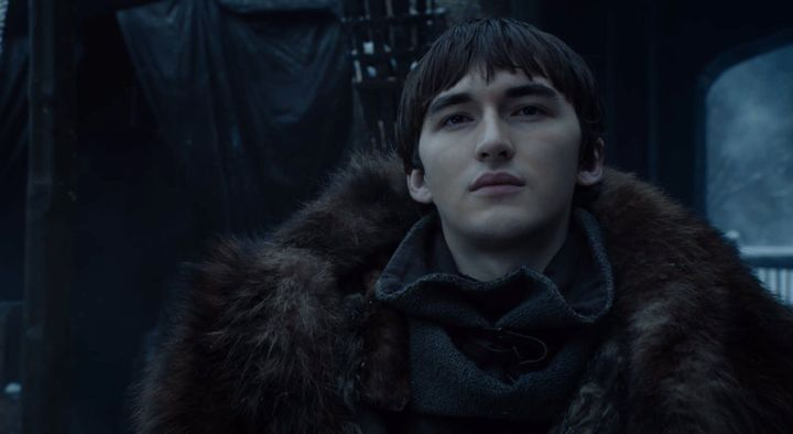 Bran looking super excited about these answers.