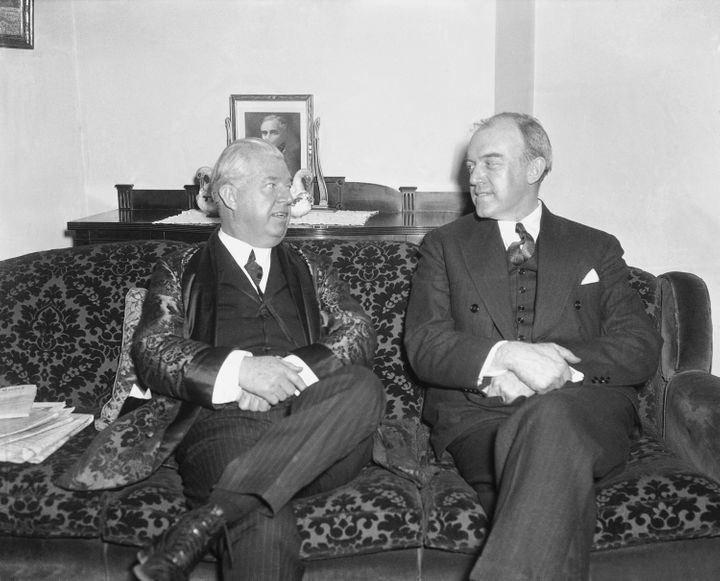 Former Commerce Department official William MacCracken (right) was the last person imprisoned by Congress under its inherent