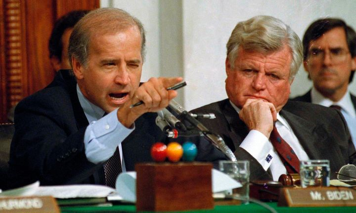 In 1991, Joe Biden was chairman of the Senate Judiciary Committee.