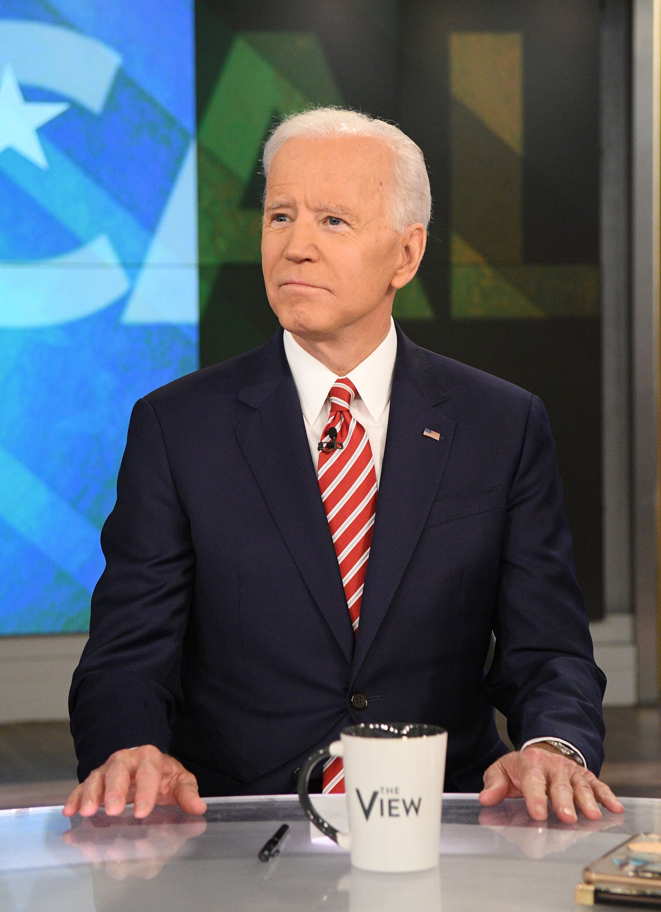 Former Vice President Joe Biden appears on