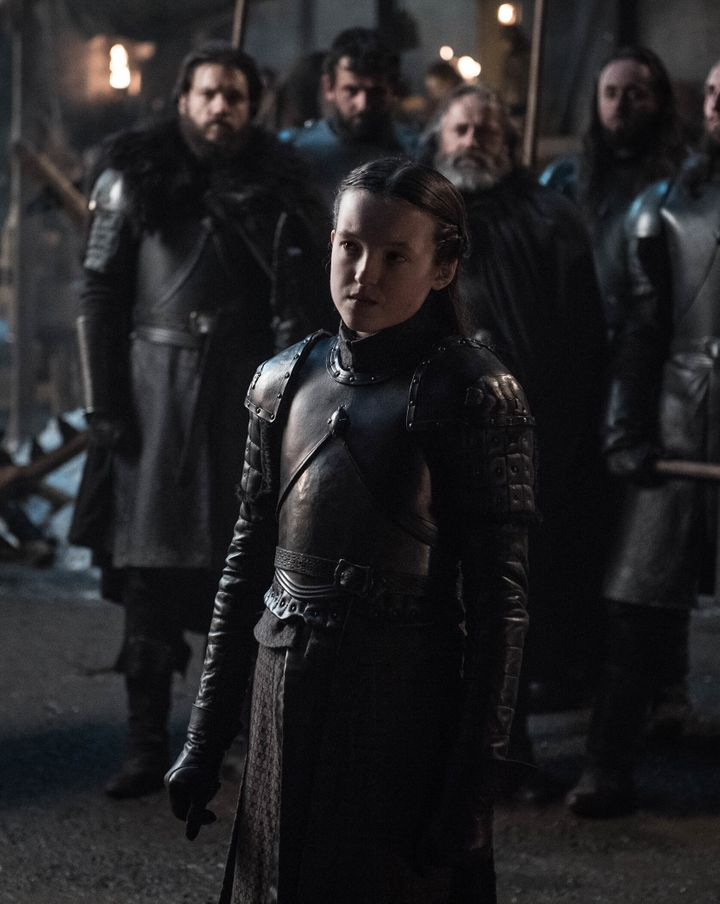 """I wish you good fortune, cousin."" — Lyanna Mormont"