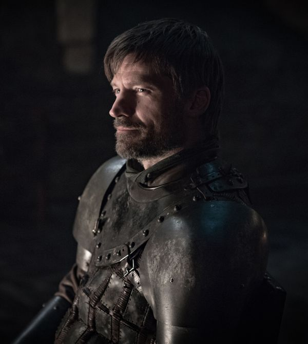 <strong>Cause of death</strong>: After fatally stabbing Euron (Pilou Asb&aelig;k), Jaime suffers bad wounds before eventually