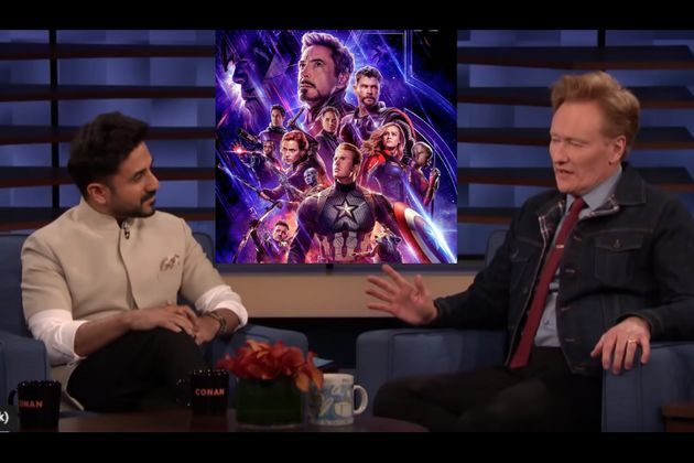 Vir Das Tells Conan O'Brien What An Indian Marvel Superhero Would Be