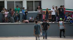 Hours After Mass Escape In Mexico, Cuban Migrants Chant For Food,