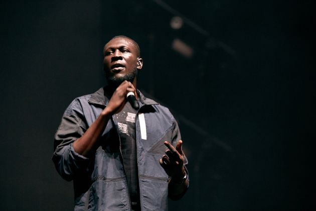 Stormzy live on stage last