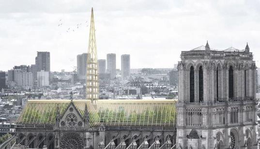 Notre-Dame de Paris: des architectes imaginent une serre sur le