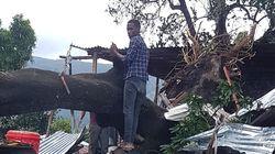 Brasileiros participam de buscas após novo ciclone atingir