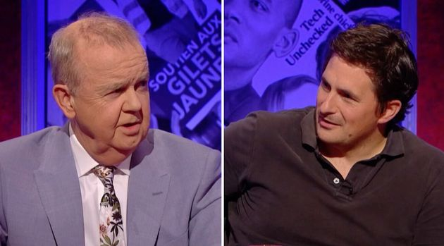 Ian Hislop demanded Johnny Mercer, the MP for Plymouth West, justify an £85,000 a year second job...