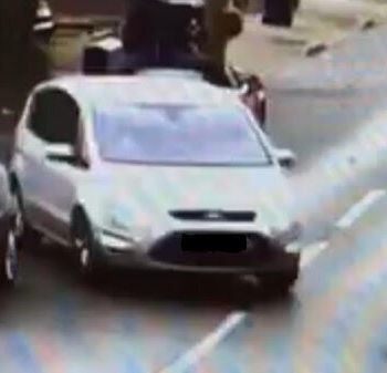 Police have issued this image of a car wanted in connection with the