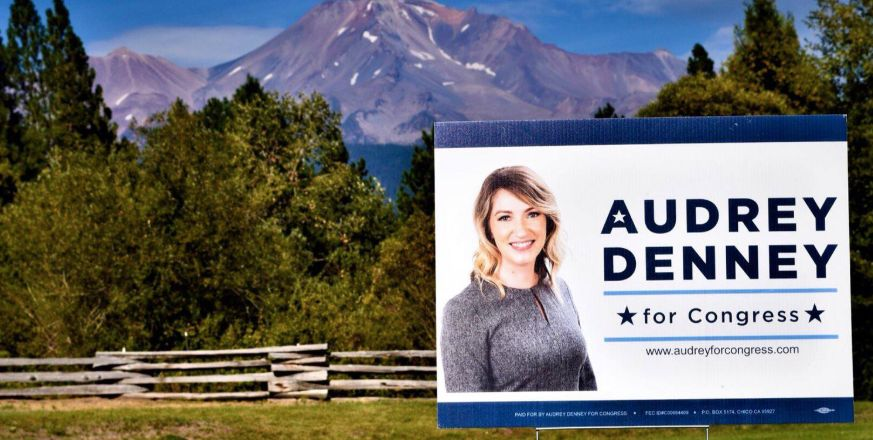 The group behind the Green New Deal is backing agricultural educator Audrey Denney's second bid to unseat Rep. Doug LaMalfa (R-Calif.).