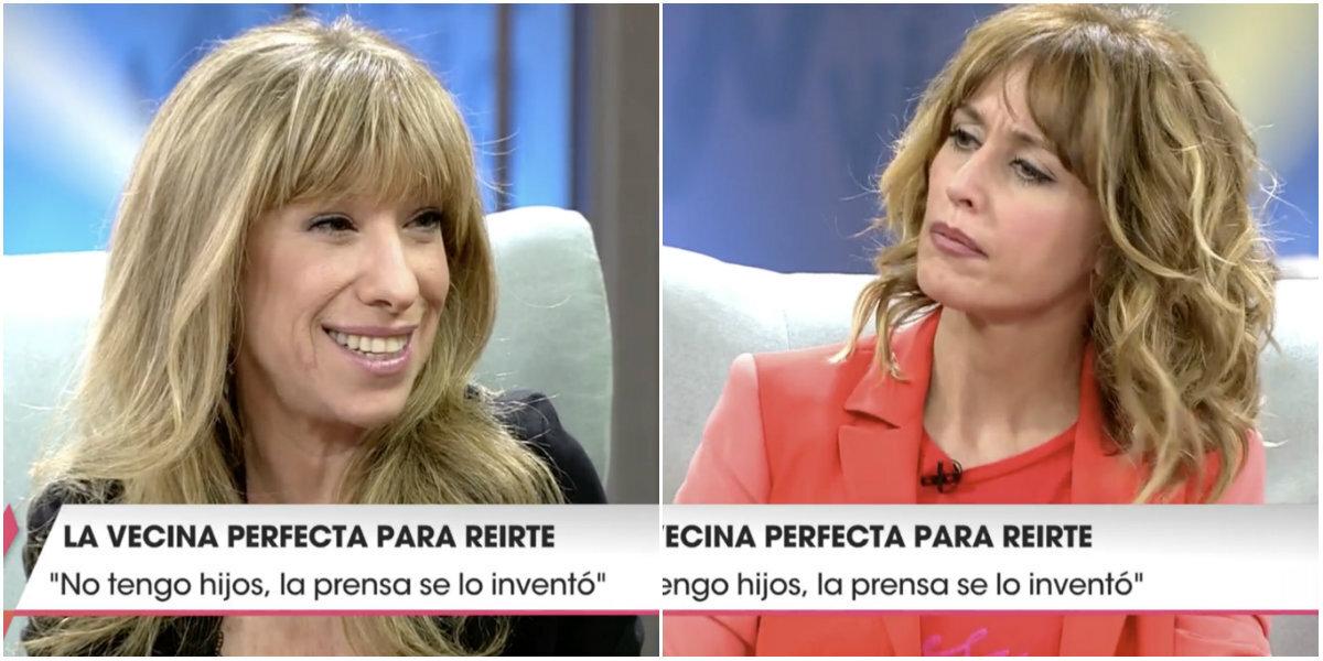 El elegante corte de Nathalie Seseña a Emma García en 'Viva la vida':
