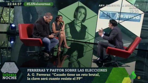 Antonio García Ferreras y Ana Pastor en 'LaSexta