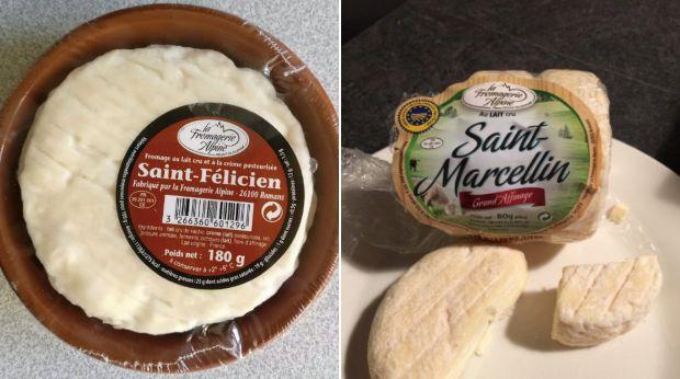 Les fromages Saint-Félicien et Saint-Marcellin fabriqués par la société Fromagerie Alpine sont retirés de la vente après une infection à la bactérie E. coli.